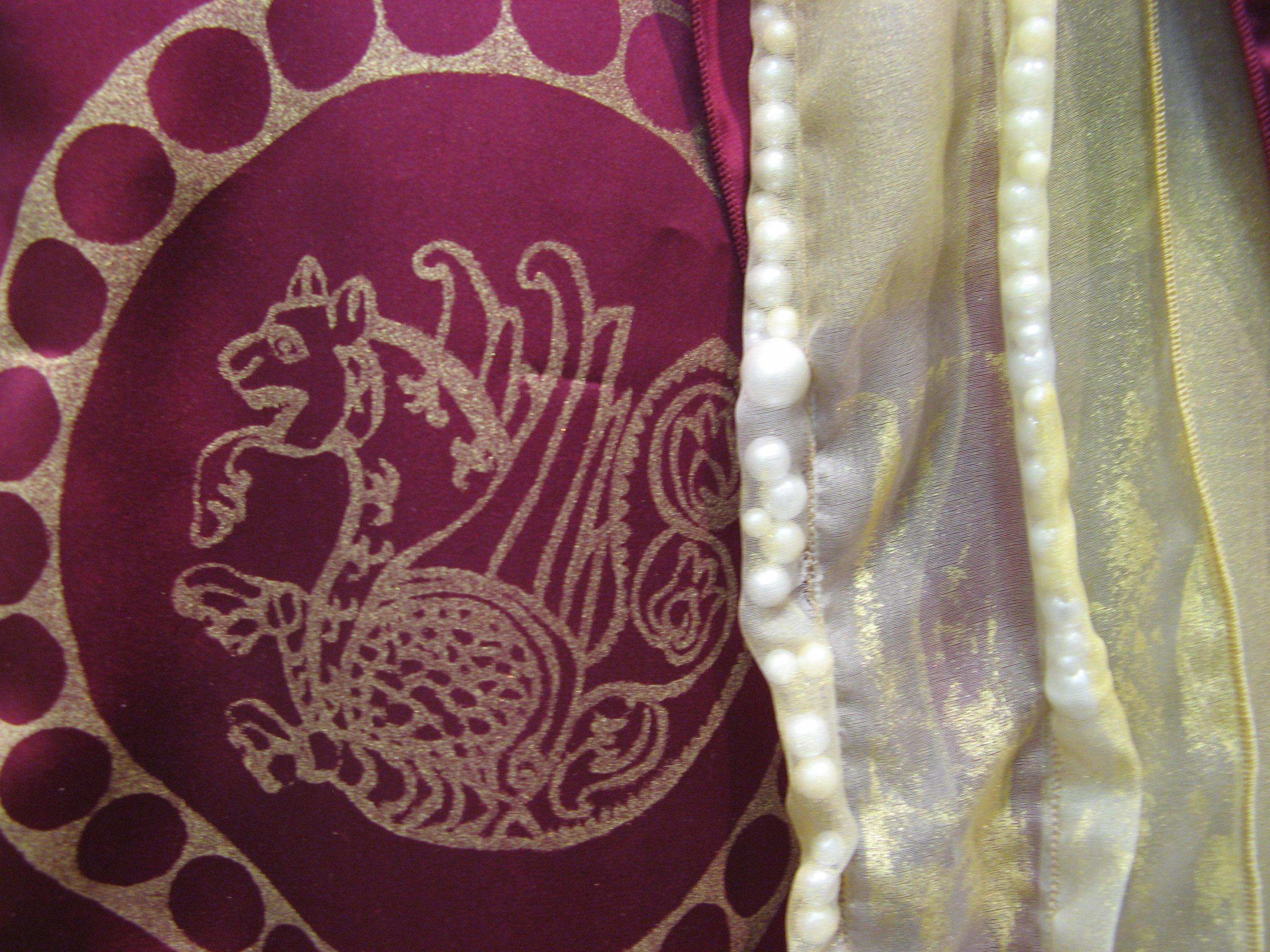 Munroe-Medallion Palace detail