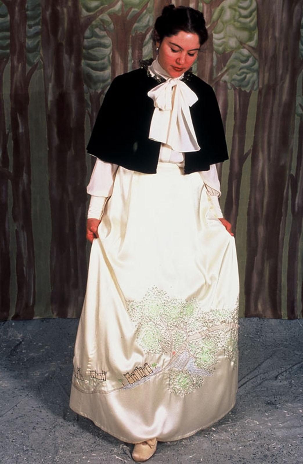 Munroe-Princess Map Dress